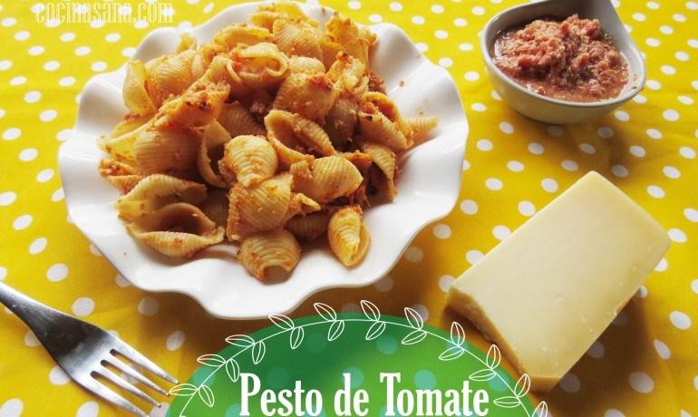 Pesto de Tomate con Macadamias: Salsa para Pasta