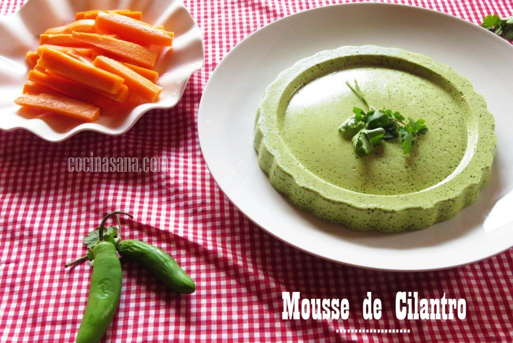 Mousse Cilantro