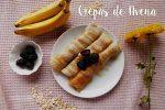 Crepas de Avena con Plátano y Miel