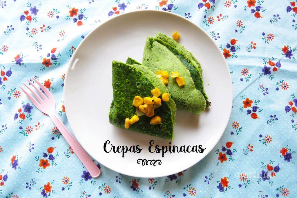 Crepas de espinacas receta f cil para preparar crepes en for Cocinar en 30 minutos