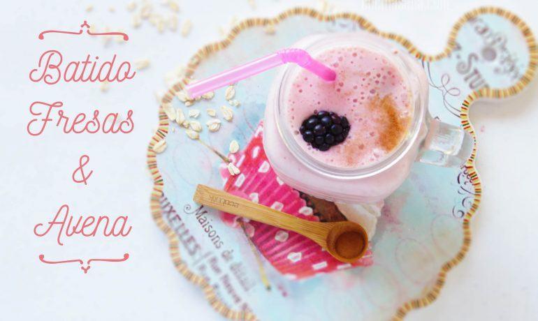 Batido de Fresas y Avena