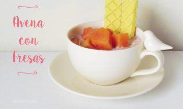 avena con fresas