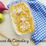 Puré de Camote (Batata) y Manzana: Receta