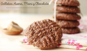 galletas de chocolate sin gluten ni huevo